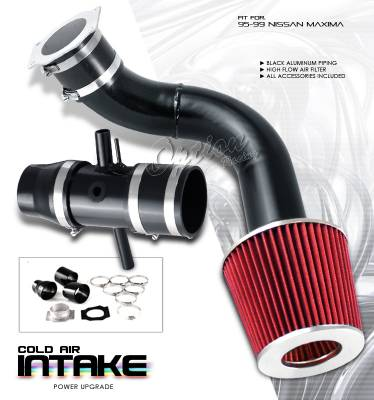 OptionRacing - Nissan Maxima Option Racing Cold Air Intake Pipe