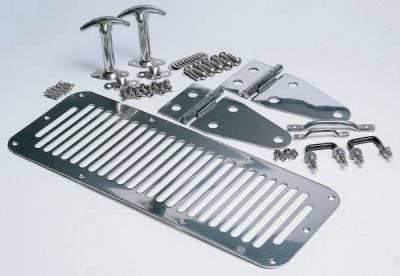 Rampage - Jeep Wrangler Rampage Hood Set - 7465