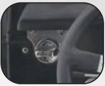 Rampage - Jeep CJ Rampage Windshield Knob - Chrome - 7527