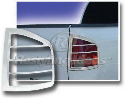 Restyling Ideas - Chevrolet S10 Restyling Ideas Taillight Bezel - Chrome - 26802
