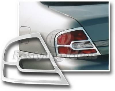 Restyling Ideas - Nissan Altima Restyling Ideas Taillight Bezel - Chrome - 26805