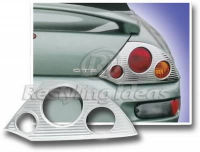 Restyling Ideas - Mitsubishi Eclipse Restyling Ideas Taillight Bezel - Chrome - 26806
