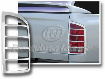 Restyling Ideas - Dodge Ram Restyling Ideas Taillight Bezel - Chrome - 26819