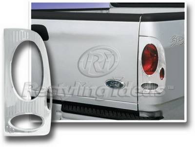 Restyling Ideas - Ford F350 Restyling Ideas Taillight Bezel - Chrome - 26820