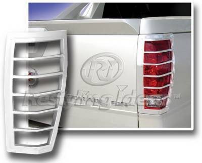 Restyling Ideas - Cadillac Escalade Restyling Ideas Taillight Bezel - Chrome - 26829