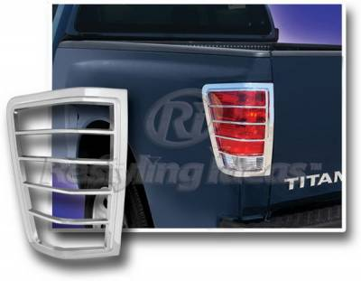 Restyling Ideas - Nissan Titan Restyling Ideas Taillight Bezel - Chrome - 26833