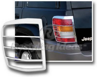 Restyling Ideas - Jeep Grand Cherokee Restyling Ideas Taillight Bezel - Chrome - 26836