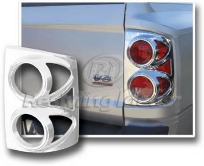 Restyling Ideas - Dodge Dakota Restyling Ideas Taillight Bezel - Chrome - 26838