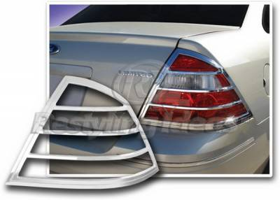 Restyling Ideas - Ford Taurus Restyling Ideas Taillight Bezel - Chrome - 26843