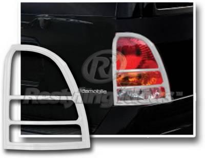 Restyling Ideas - Oldsmobile Bravada Restyling Ideas Taillight Bezel - Chrome - 26847
