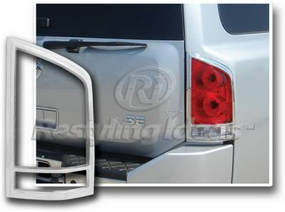 Restyling Ideas - Nissan Armada Restyling Ideas Taillight Bezel - Chrome - 26849