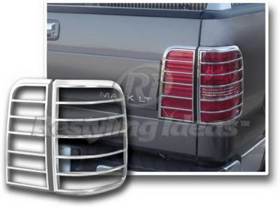 Restyling Ideas - Honda Accord 4DR Restyling Ideas Taillight Bezel - Chrome - 26851