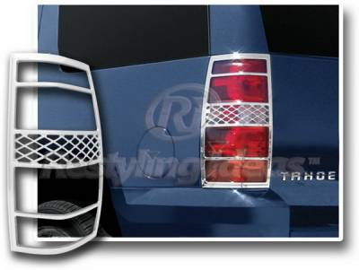 Restyling Ideas - Chevrolet Suburban Restyling Ideas Taillight Bezel - Chrome - 26853