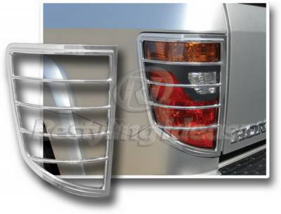 Restyling Ideas - Honda Ridgeline Restyling Ideas Taillight Bezel - Chrome - 26855