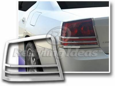 Restyling Ideas - Dodge Charger Restyling Ideas Taillight Bezel - Chrome - 26861