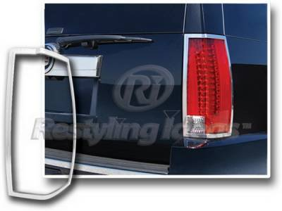Restyling Ideas - Cadillac Escalade Restyling Ideas Taillight Bezel - Chrome - 26865
