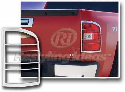 Restyling Ideas - Chevrolet Silverado Restyling Ideas Taillight Bezel - 26866