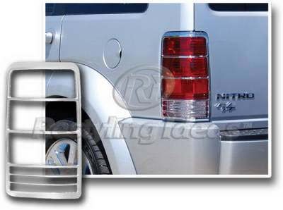 Restyling Ideas - Dodge Nitro Restyling Ideas Taillight Bezel - Chrome - 26868