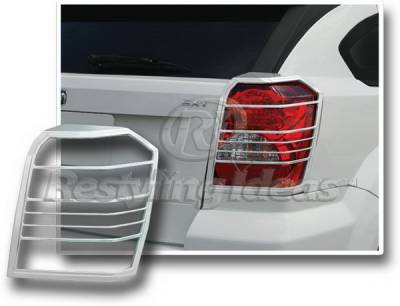 Restyling Ideas - Dodge Caliber Restyling Ideas Taillight Bezel - Chrome - 26870
