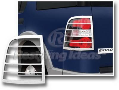 Restyling Ideas - Ford Explorer Restyling Ideas Taillight Bezel - Chrome - 26871
