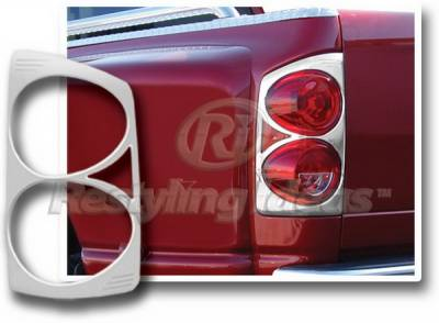 Restyling Ideas - Dodge Ram Restyling Ideas Taillight Bezel - Chrome - 26873