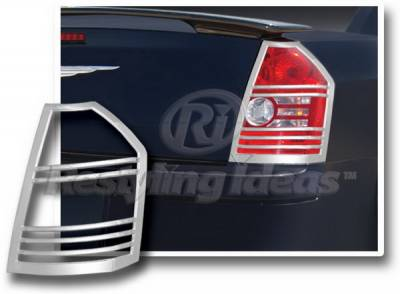 Restyling Ideas - Chrysler 300 Restyling Ideas Taillight Bezel - Chrome - 26875