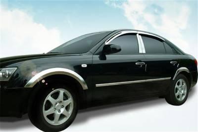 Putco - Ford F250 Superduty Putco Body Side Molding - Billet Aluminum - 96604