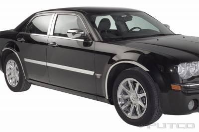 Putco - Chrysler 300 Putco Body Side Molding - Billet Aluminum - 96666
