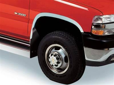 Putco - Chevrolet Silverado Putco Stainless Steel Fender Trim - Full - 97107