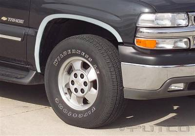 Putco - GMC Yukon Putco Stainless Steel Fender Trim - Full - 97108