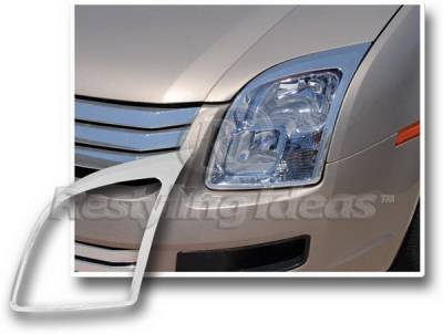Restyling Ideas - Ford Fusion Restyling Ideas Headlight Bezel - 62806