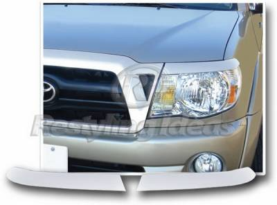 Restyling Ideas - Toyota Tacoma Restyling Ideas Head Lamp Trim - ABS Chrome - 62807