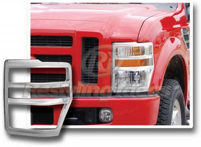 Restyling Ideas - Ford Superduty Restyling Ideas Headlight Bezel - 62808