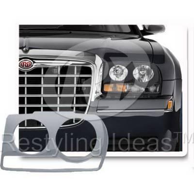 Restyling Ideas - Chrysler 300 Restyling Ideas Headlight Trim - 62811