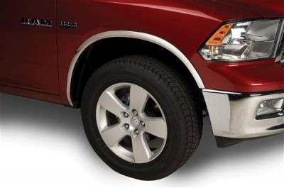 Putco - Dodge Ram Putco Stainless Steel Fender Trim - 97191