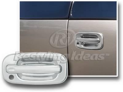 Restyling Ideas - GMC Yukon Restyling Ideas Rear Door Handle Cover - Split Barn Door - 65213
