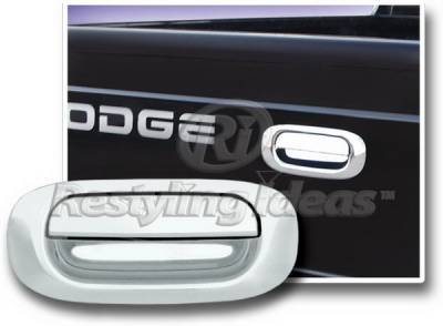 Restyling Ideas - Mitsubishi Raider Restyling Ideas Tailgate Handle Cover - 65218