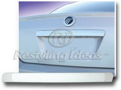 Restyling Ideas - Ford 500 Restyling Ideas Rear Trunk Molding - 65219