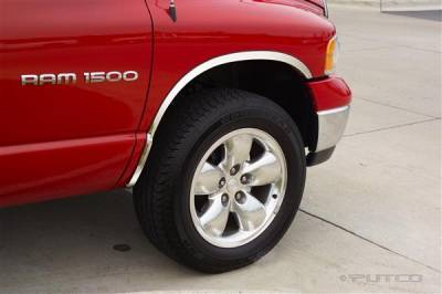 Putco - Dodge Ram Putco Stainless Steel Fender Trim - Full - 97301