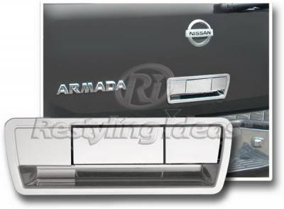 Restyling Ideas - Nissan Armada Restyling Ideas Tailgate Cover - 65220