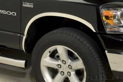 Putco - Dodge Ram Putco Stainless Steel Fender Trim - Full - 97309