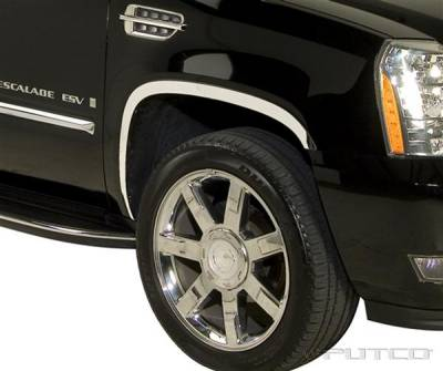 Putco - Cadillac Escalade Putco Stainless Steel Fender Trim - Full - 97321
