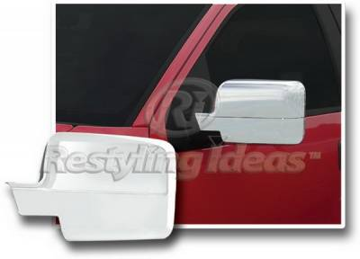 Restyling Ideas - Ford F150 Restyling Ideas Mirror Cover - Chrome ABS - 67301
