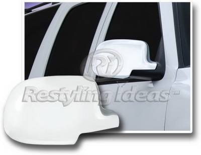 Restyling Ideas - Chevrolet Suburban Restyling Ideas Mirror Cover - Chrome ABS - 67303