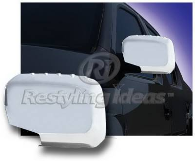 Restyling Ideas - Honda Ridgeline Restyling Ideas Mirror Cover - Chrome ABS - 67312