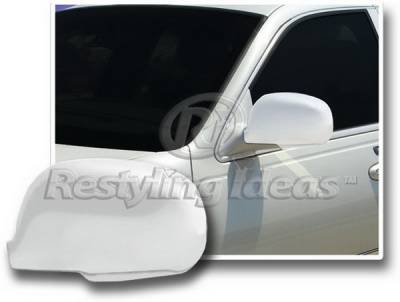 Restyling Ideas - Lincoln Town Car Restyling Ideas Mirror Cover - Chrome ABS - 67316
