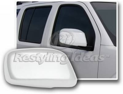 Restyling Ideas - Nissan Frontier Restyling Ideas Mirror Cover - Chrome ABS - 67321