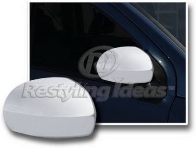 Restyling Ideas - Jeep Compass Restyling Ideas Mirror Cover - Chrome ABS - 67322