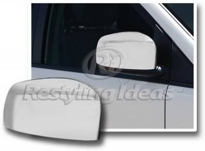 Restyling Ideas - Dodge Caravan Restyling Ideas Mirror Cover - Chrome ABS - 67349