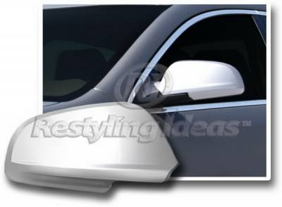 Restyling Ideas - Chevrolet Malibu Restyling Ideas Mirror Cover - Chrome ABS - 67353